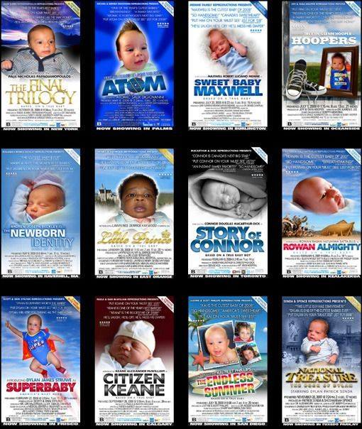 Posters de películas para bebes
