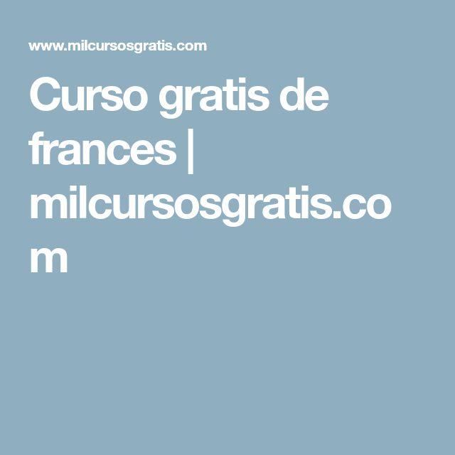 Curso gratis de frances | milcursosgratis.com