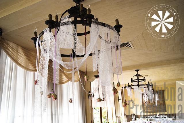 vintage dekoracje wesele