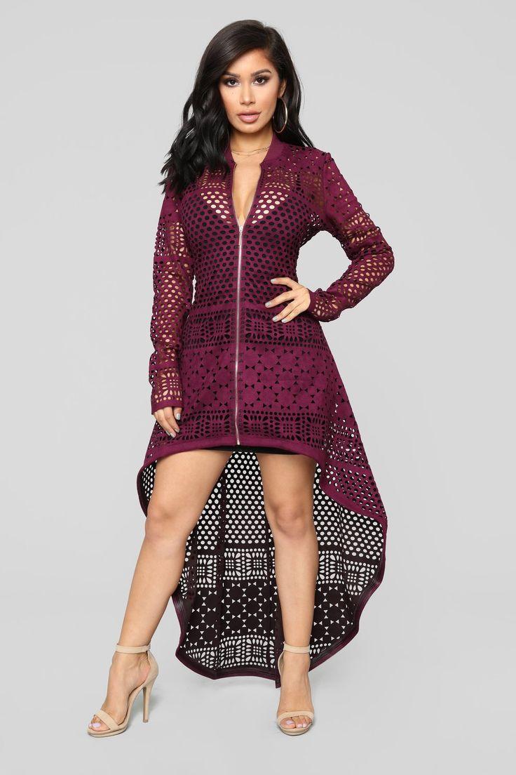 Wild Dreams Jacket Plum In 2019 Janet Guzman Fashion