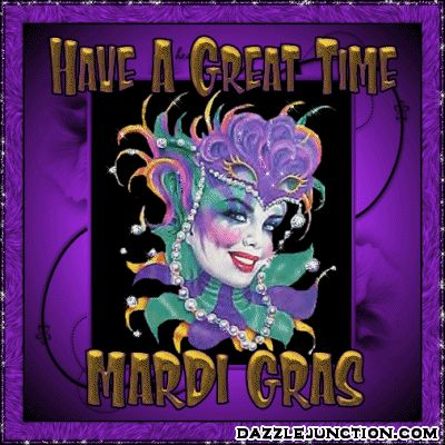 Find free Mardi Gras greetings, pictures, comments, images, graphics, gifs, pics, quotes, cards, photo covers, and stickers for Facebook.  Click to share pictures on facebook or use html codes on  profiles, tumblr, twitter, myspace, fubar, for greeting cards, forums, blogs and more.