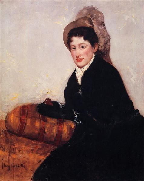 1878 Portrait of Madame X Dressed for the Matinee by Mary Cassatt