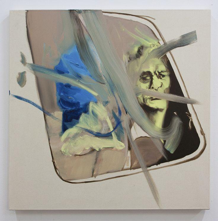 One side-other side  Artista: Bartosz Beda, óleo sobre lienzo, 77x77cm, 2014   Artist: Bartosz Beda, oil on canvas, 77x77cm, 2014 (300dpi)  #art #arte #contemporaryartwork #pintura #paint #bac #dibujo #drawing