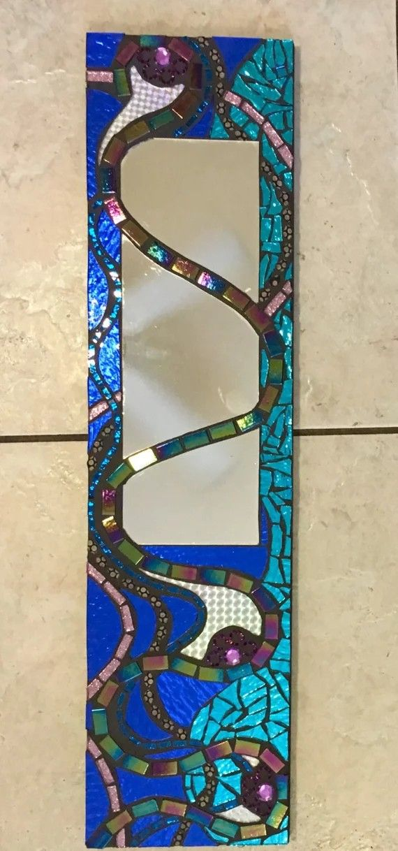 Stained Gl Mirror Mosaic Wall Mirrors