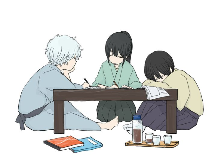 Tags: Fanart, Gin Tama, Pixiv, Sakata Gintoki, Takasugi Shinsuke, Katsura Kotaro, Fanart From Pixiv, Pixiv Id 112780, Joui