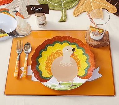 Thanksgiving Turkey Plate #pbkids