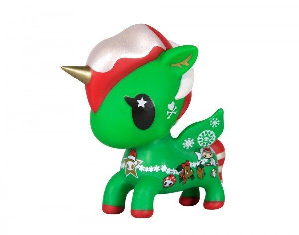 tokidoki Holiday Unicorno 5 inch vinyl toy