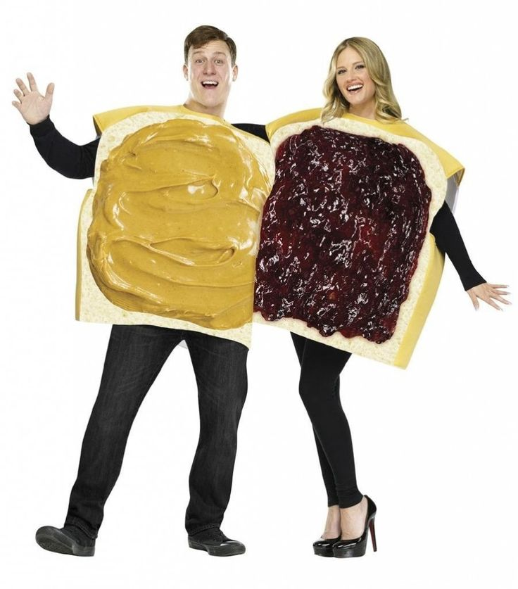 Peanut Butter Jelly Sandwiches | Halloween Gifts for Boyfriend and Girlfriend