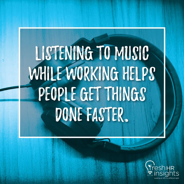 Various studies have indicated that, in general, people who listened to music while they worked on repetitive tasks performed faster and made fewer errors.  #Canberra #Queanbeyan #CentralCoast #Tamborine #TamborineMountain #Tamrookum #TamrookumCreek #Tugun #TugunHeights #FunFact #Trivia #Didyouknow