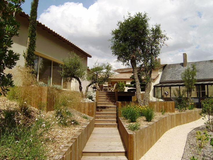 Jardin contemporain : les Bojardins