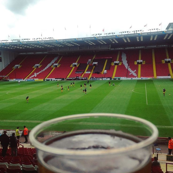 Not gonna lie the #hospitality at the #Sheffield United ground was god awful but getting to see Jack Whitehall made it all better . #football #comedy #cider #drinks #stadium