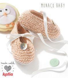 2 vídeos para aprender a tejer patucos y botitas para bebé | http://www.katia.com/blog/es/2015/03/10/2-videos-para-aprender-a-tejer-patucos-y-botitas-para-bebe/