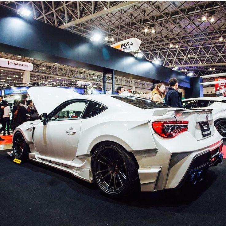 Custom White Sport Toyota — WOOTmylife