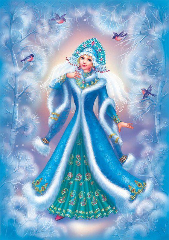 Snowgirl-4 by OlesyaGavr.deviantart.com on @deviantART