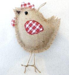 fabric chicken