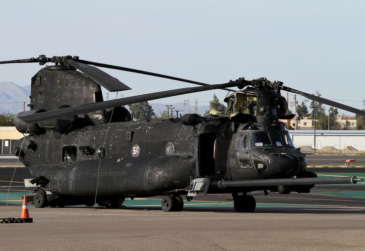 """Boeing MH-47G Chinook US Army 04-03750 160th Special Operations Aviation Regiment (SOAR) """"Nightstalkers"""" (Airborne)"""