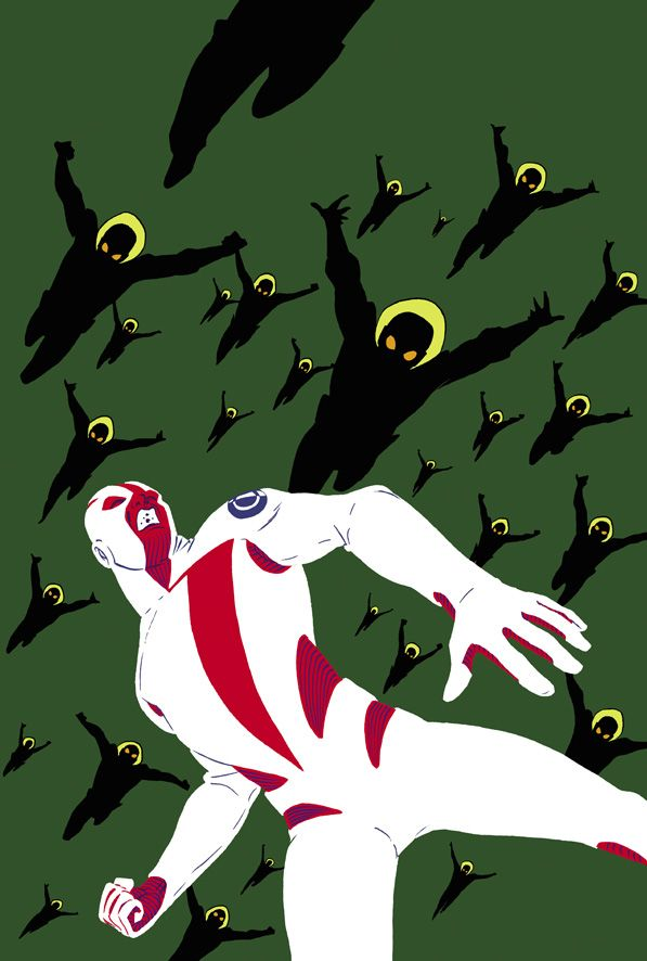 BREACH #3 Cover (2005). Art by Marcos Martin.