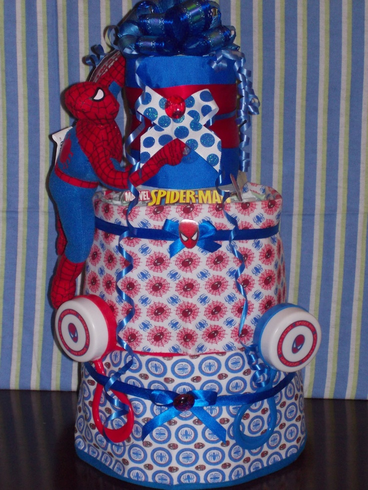 Baby Showers Dc ~ Best images about spiderman baby shower cake on