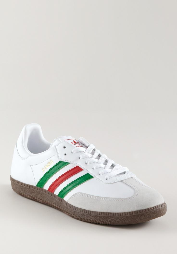 ADIDAS Samba EuroCup 2012 Leather/Suede white-red-green, Retro & Classics