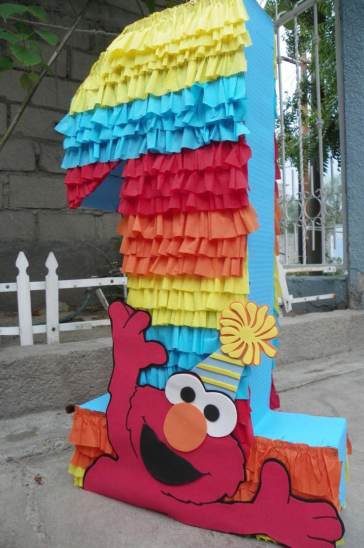 Piñatas~Piñata #1 Elmo