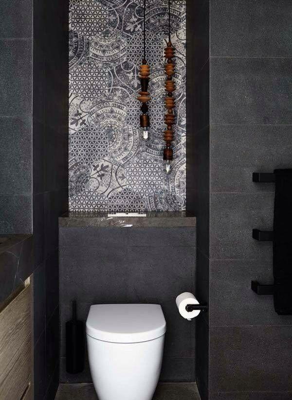 Artistic twist to your bathroom