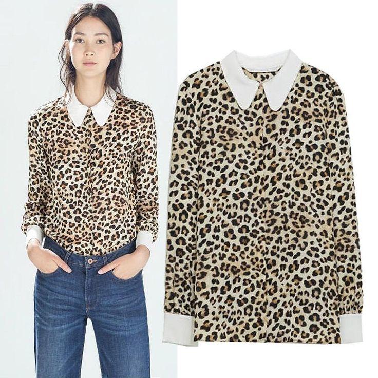 Atasan Motif Leopard | Toko Baju Online