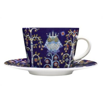 iittala Taika 6.75 Oz. Blue Cappuccino Cup