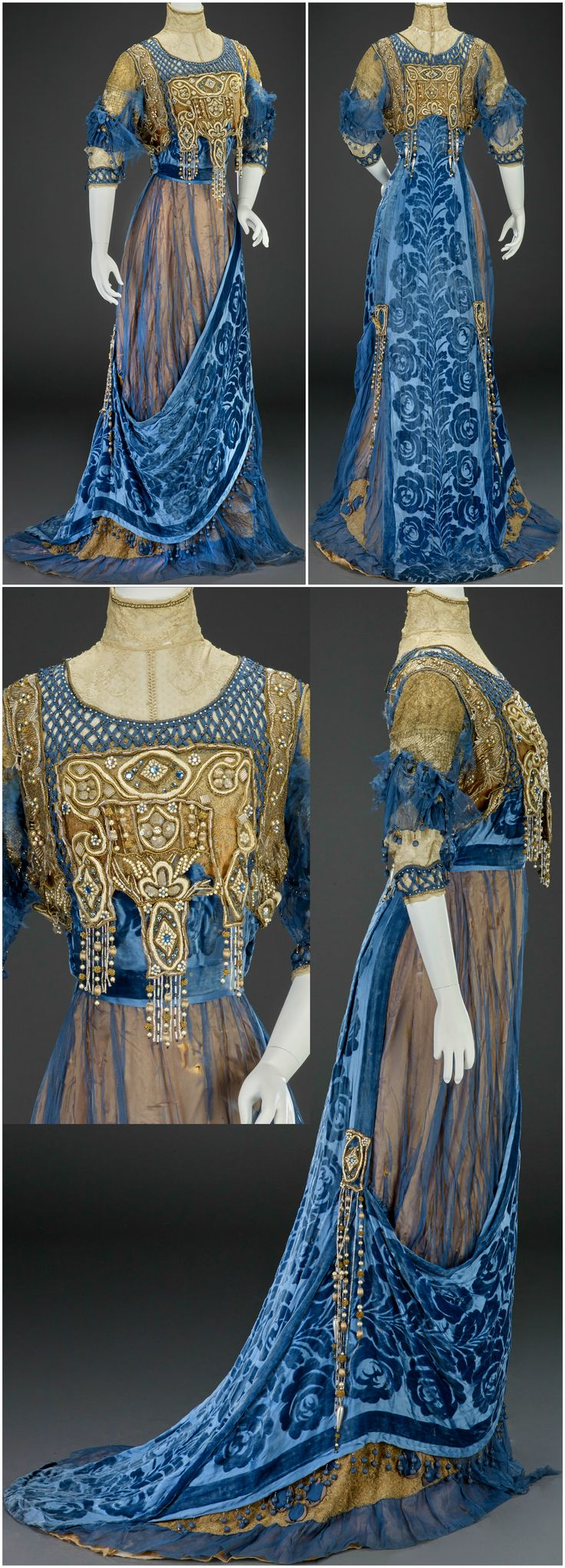 Evening dress, by G. Giuseffi Ladies' Tailoring Company, American, about 191…