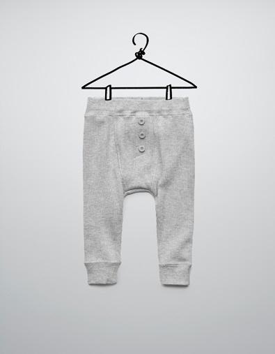 VELOURS BROEK - Broeken - Baby jongen (3-36 maanden) - Kinderen - ZARA Nederland
