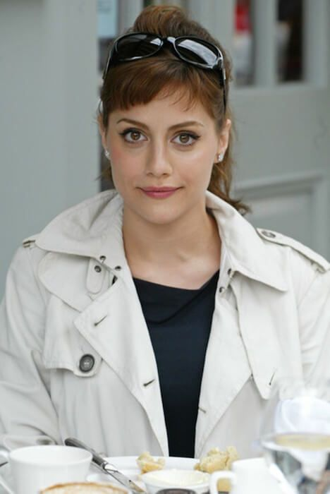 Brittany Murphy during a casual tea session in Los Angeles....