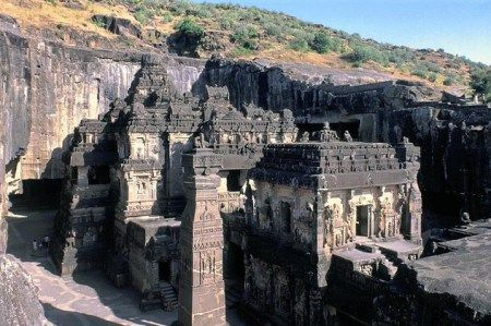 Shiv Bhagwan - Kailash Temple at ajanta ellora