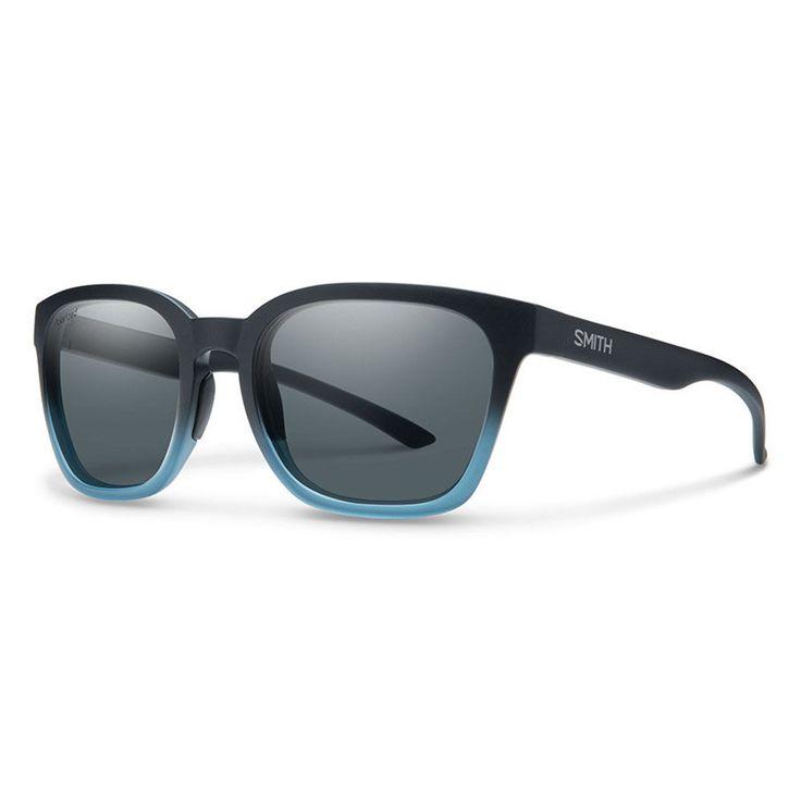 Smith Sunglasses Founder Matte Black Corsair Polarized Grey