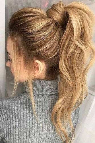 74 Most Popular Ways To Homecoming Hair Styles For Medium Length Half Up Straig