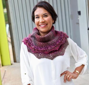 Chevron Lace Shawl Crochet Kit