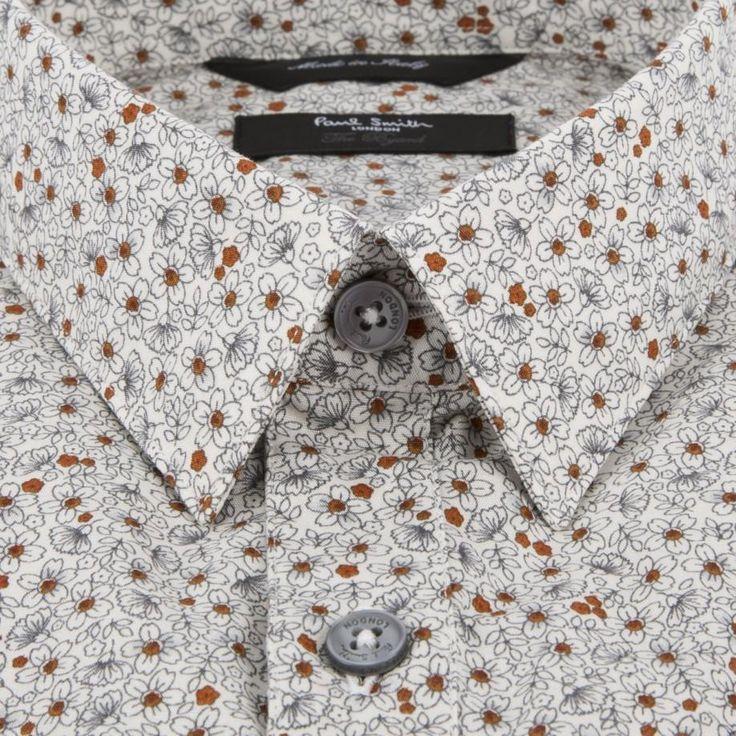 Paul Smith Men's Shirts | Aran Floral Byard Shirt