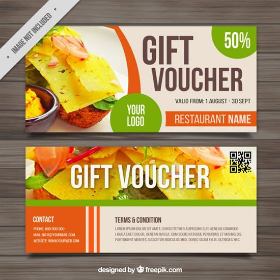 Best Vouchers Templates Images On   Free Gifts Gift
