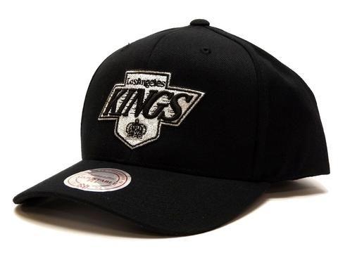 Mitchell & Ness Flex 110 Snapback Kings - Black #Mitchellandness #Snapback #kings #nhl
