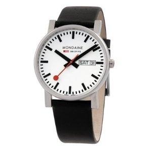 Mondaine Gents Evo A667.30344.11SBB 38mm Day Date: Amazon.ca: Watches