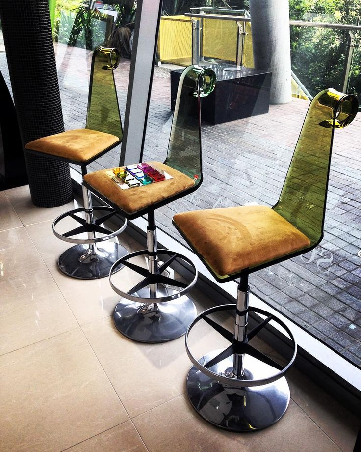 Our whimsical LOOP bar chairs www.sovereigninteriors.com.au