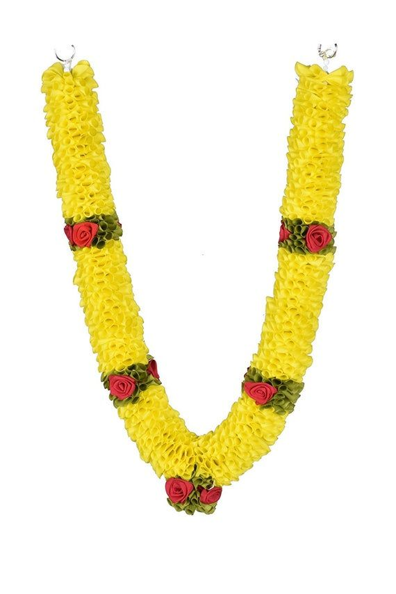 Yellow Artificial Statue Garlands Photo Puja Mala Garland Indian Garland Prayer Mala Garlands Marigo Photoshop Backgrounds Free Beading Netting Flower Art