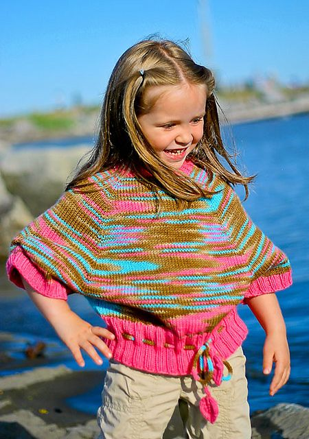 Ravelry: Paint Me A Sweater pattern by Elena Nodel