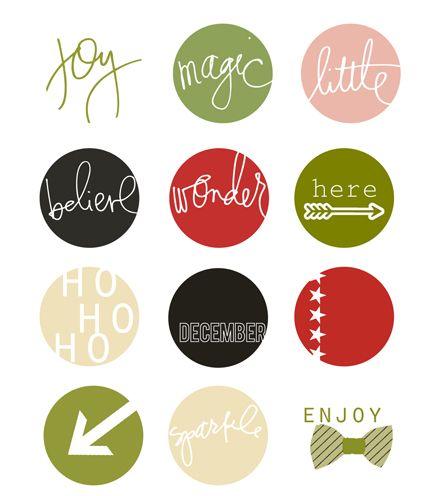 Day 6…elf « Heidi Swapp FREEBIE PRINTABLES created by #maggiemassey