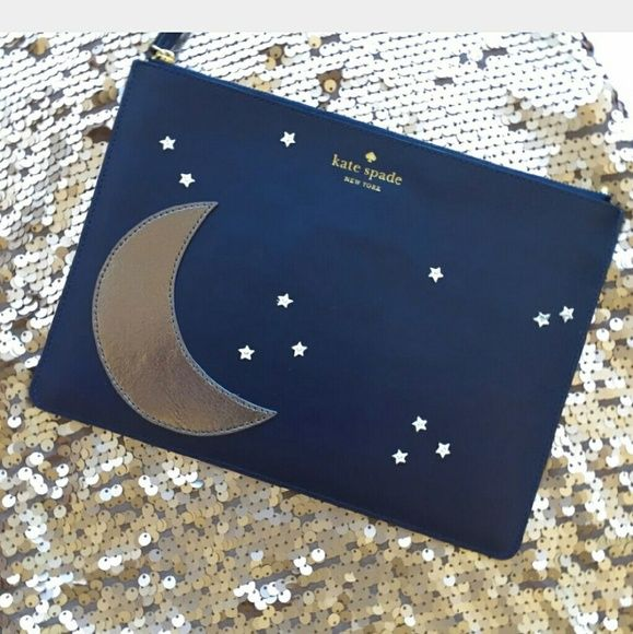 Kate Spade Stars Clutch Absolutely DARLING, hard to find clutch for that special date night. NWT. Bags