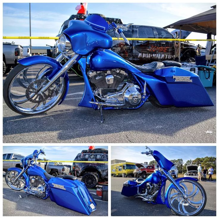 Photo: Join this collection and see all the #BigWheelBaggerMotorcycles There has already been quite a few uploaded. CHECK EM OUT #BigWheelBagger #MotorcycleEvolution #Bagger #MyrtleBeach #HarleyDavidson #Motorcycle