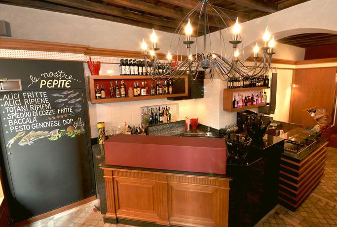 Pepita Restaurant, Via dei Banchi Vecchi 140\A, design and made by RPM Proget