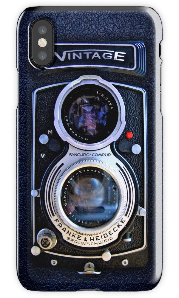 Classic Black Silver Double lens camera iPhone 4, 5, 6, 7, 8, X Cases & Skins #Case #CellPhone #iPhonecase #hardcase #retro #photographer #tumblr #oldfilm #cameracase #vintage #old #vintagefilm #moviecamera #blackwhite #cameraanalogue #cameralens #steampunk #antique #uniquecamera #retrocamera #vintagecamera #classiccamera
