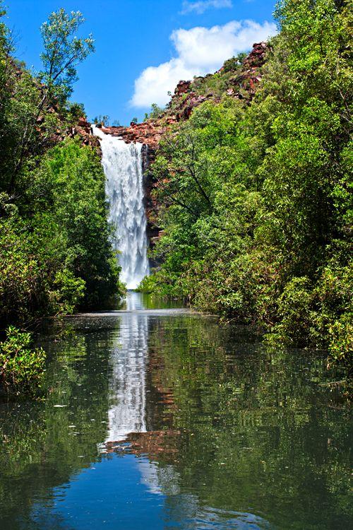 Prince Regent Amphitheatre Waterfall Kimberley Western Australia