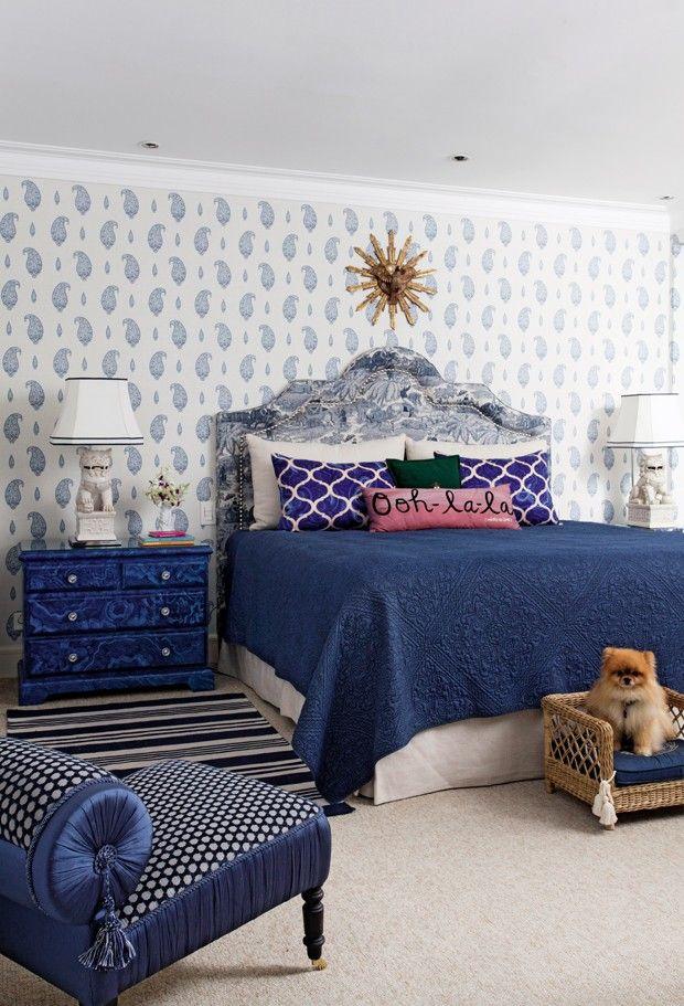Спальня с двуспальной кроватью (Фото: Marco Antonio)