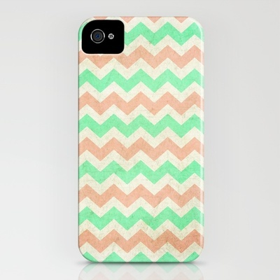 coral mint chevron iPhone Case: My favorite color palette of the season.: Iphone Cases, Chevron Cases, Iphone Products, Mint Chevron, Smartphone Cases, Iphonecases, Chevron Iphone, Coral Mint