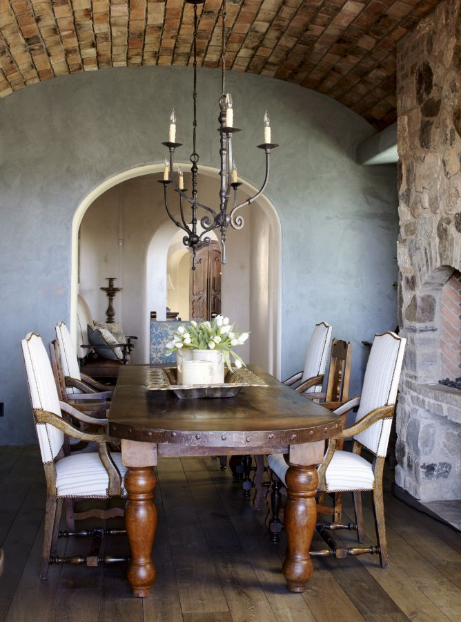 This Enchanting Dining Space Was Completed By Wiseman Gale Interiors LuxeAZ